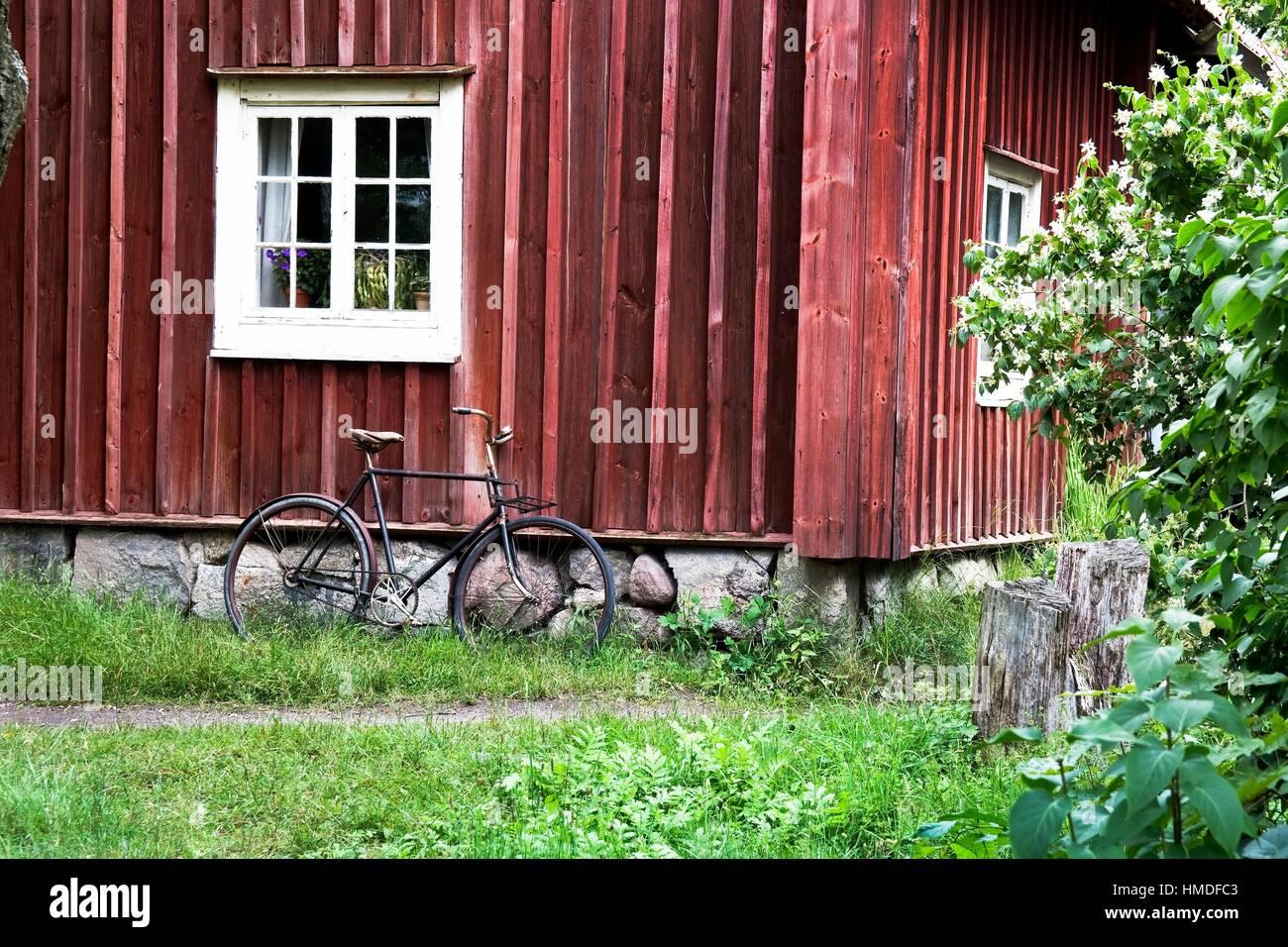 "Museo Skansen â. "" Isla de Djurgärdenâ. "" Estocolmo â. "" Suecia â. Immagini Stock"