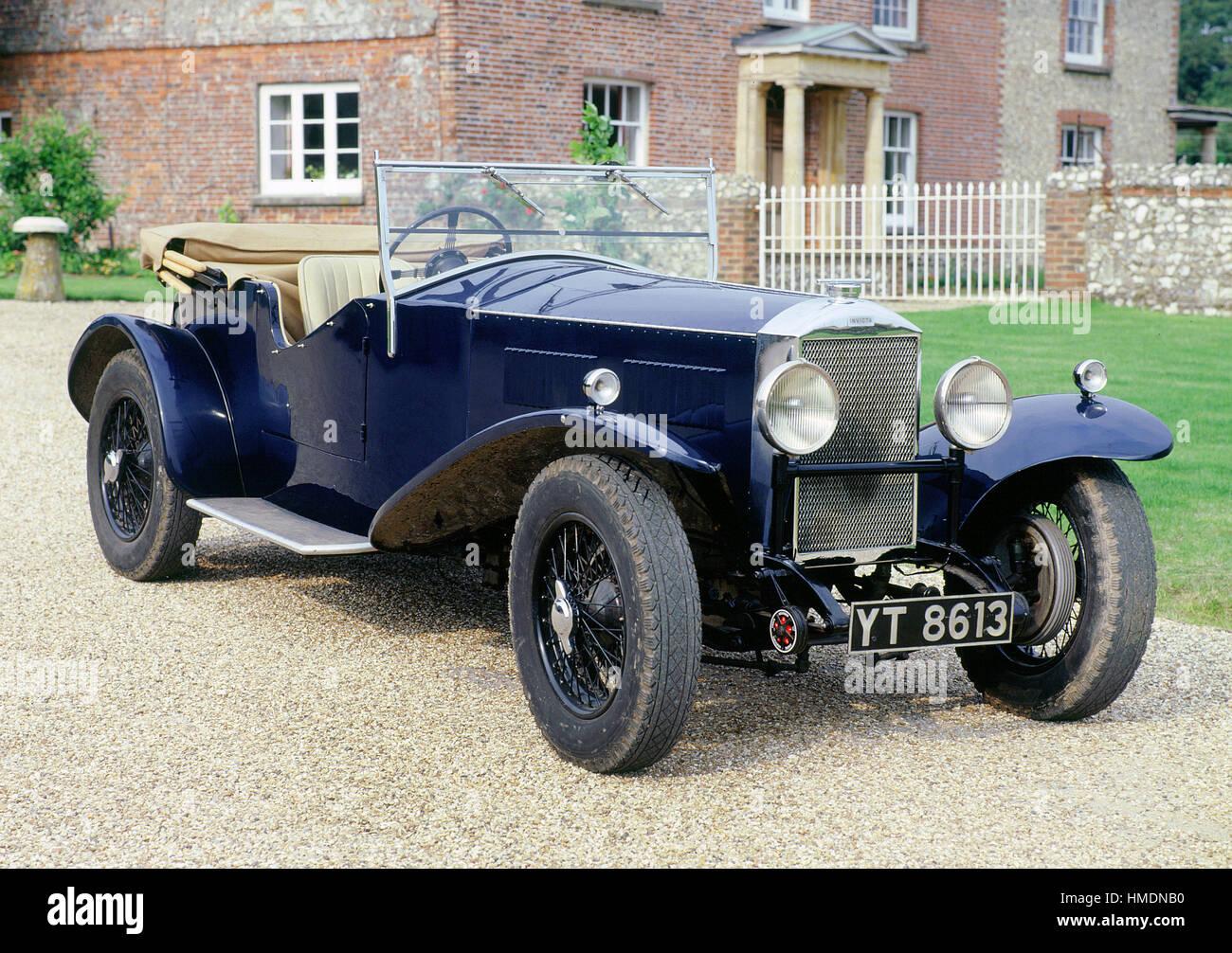 1931 Invicta roadster aperto Immagini Stock