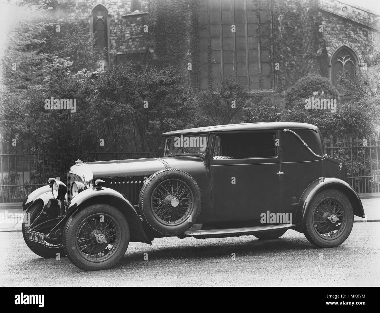 Il 1931 Bentley 4,5 litro Immagini Stock