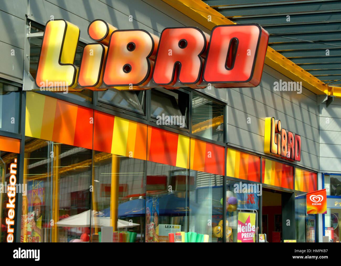 Libro shop Immagini Stock