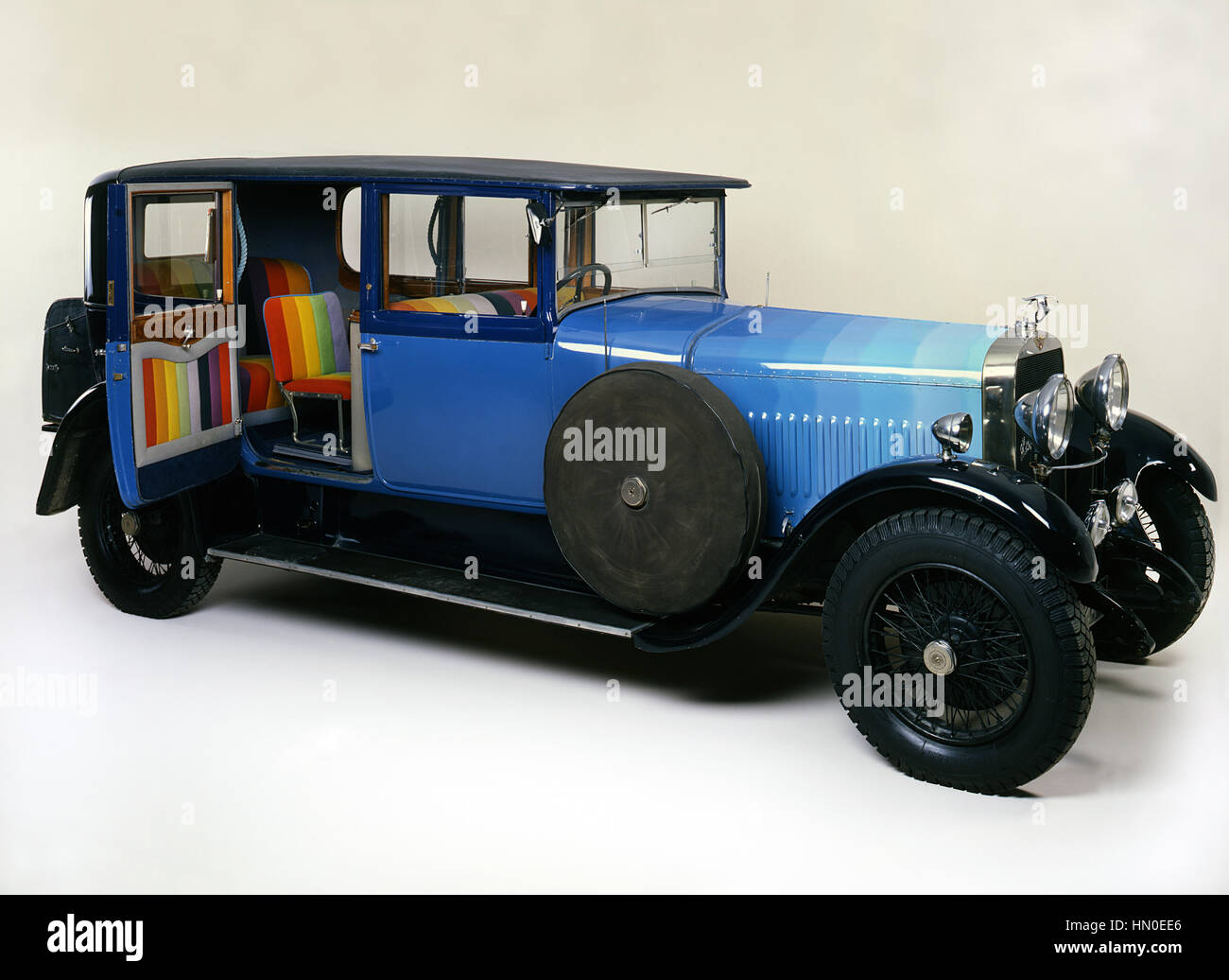 1929 Hispano Suiza 37hp H6, ex Paul McCartney. Immagini Stock