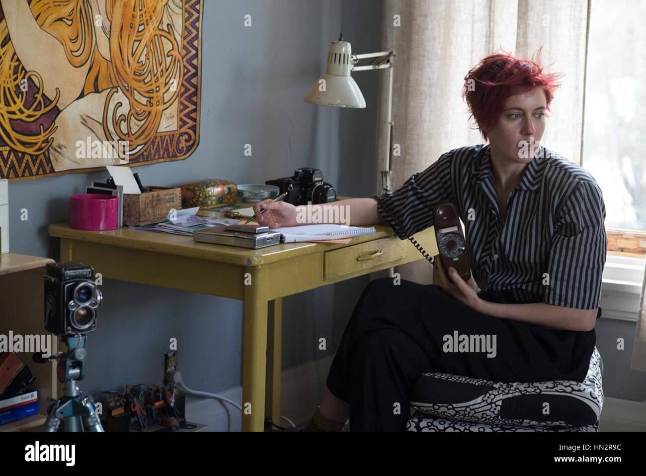 Xx secolo le donne (2016) greta gerwig Mike Mills (dir) annapurna pictures/raccolta moviestore ltd Immagini Stock