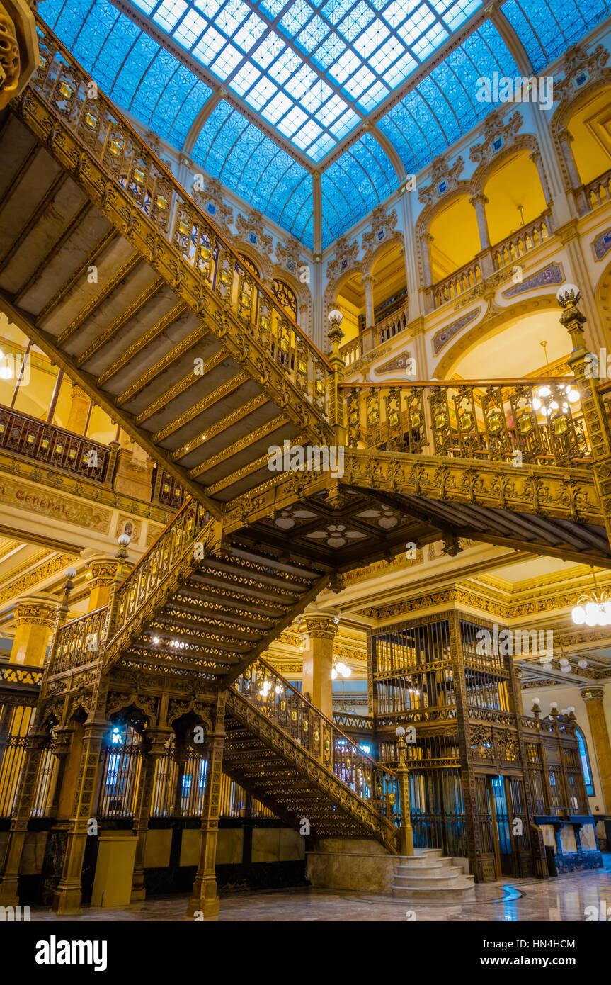 Il Palacio de Correos de Mexico (postali Palazzo di Città del Messico) noto anche come 'Correo Mayor' Immagini Stock
