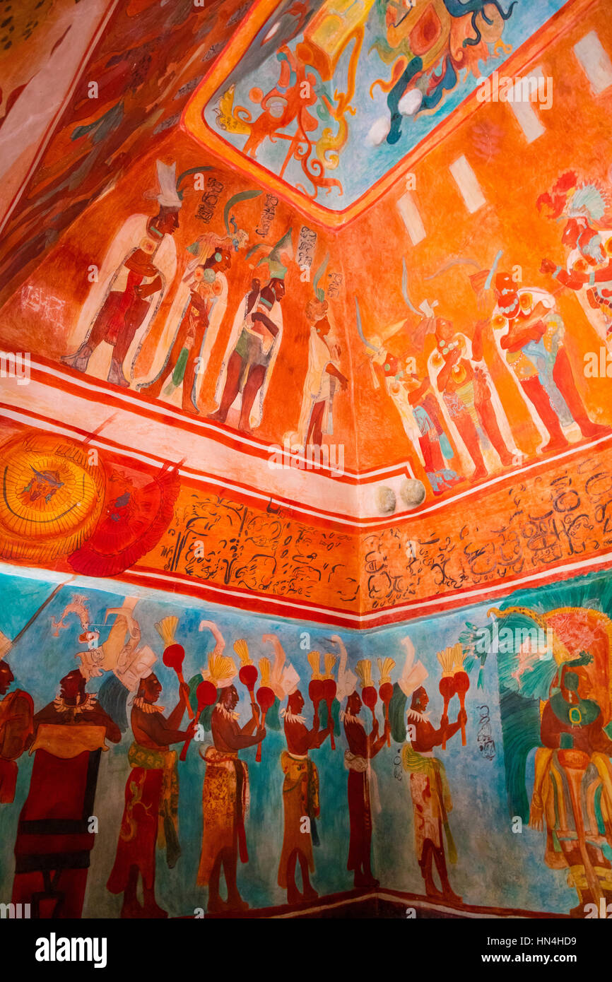 Il Museo Nazionale di Antropologia (Spagnolo: Museo Nacional de Antropología, MNA) è un museo nazionale Immagini Stock