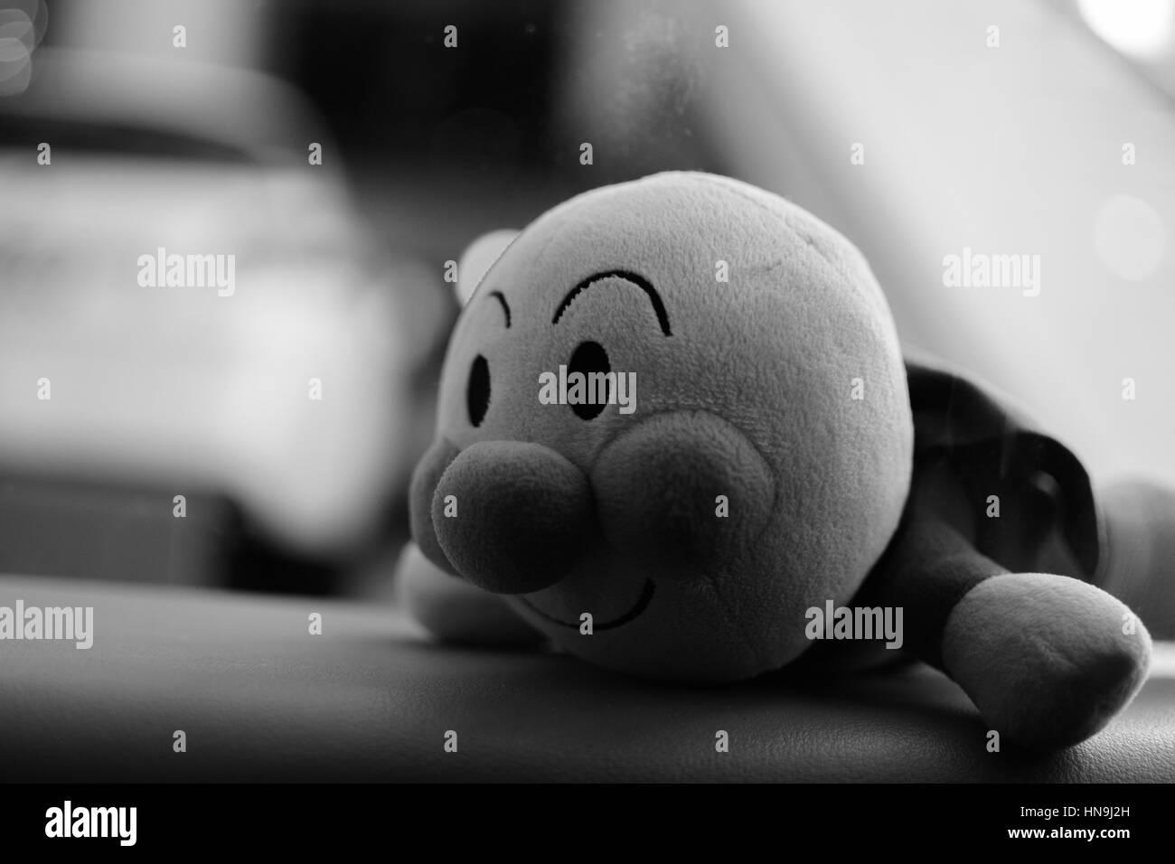 Anpanman giocattolo imbottito Immagini Stock