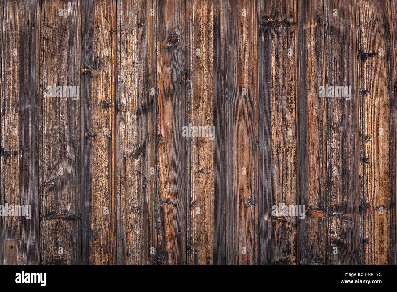 Tavole Di Legno In Legno Antico Vintage E Rosolare La Texture Della Parete Vicino Foto Stock Alamy