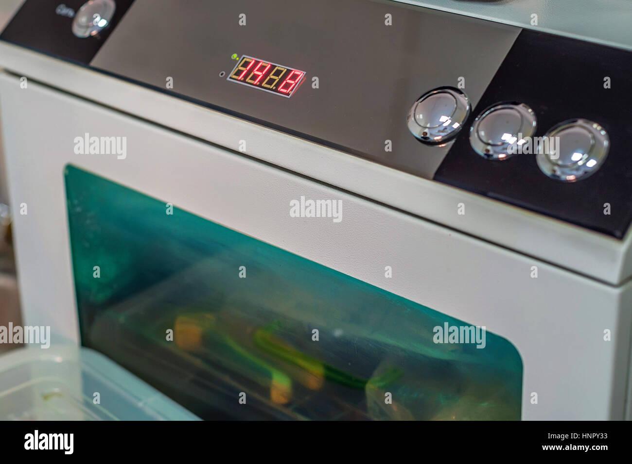 Lo sterilizzatore UV in ospedale veterinario Immagini Stock