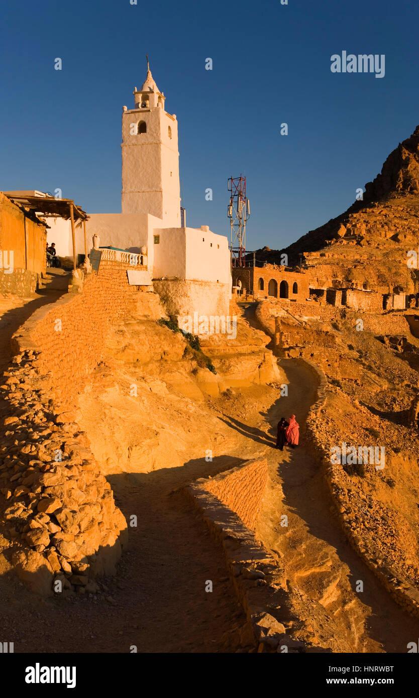 Tunisia.chenini Immagini Stock