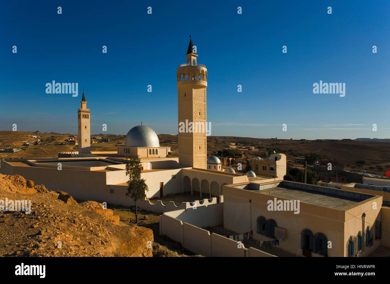 Tunisia.ksar haddada moschea. Immagini Stock
