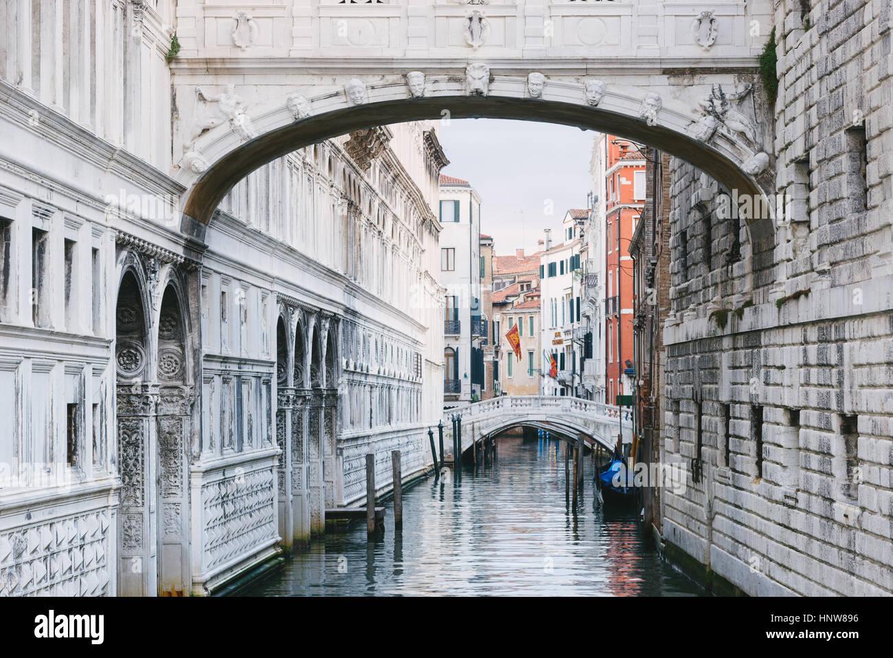 Grand Canal, Venezia, Italia Immagini Stock