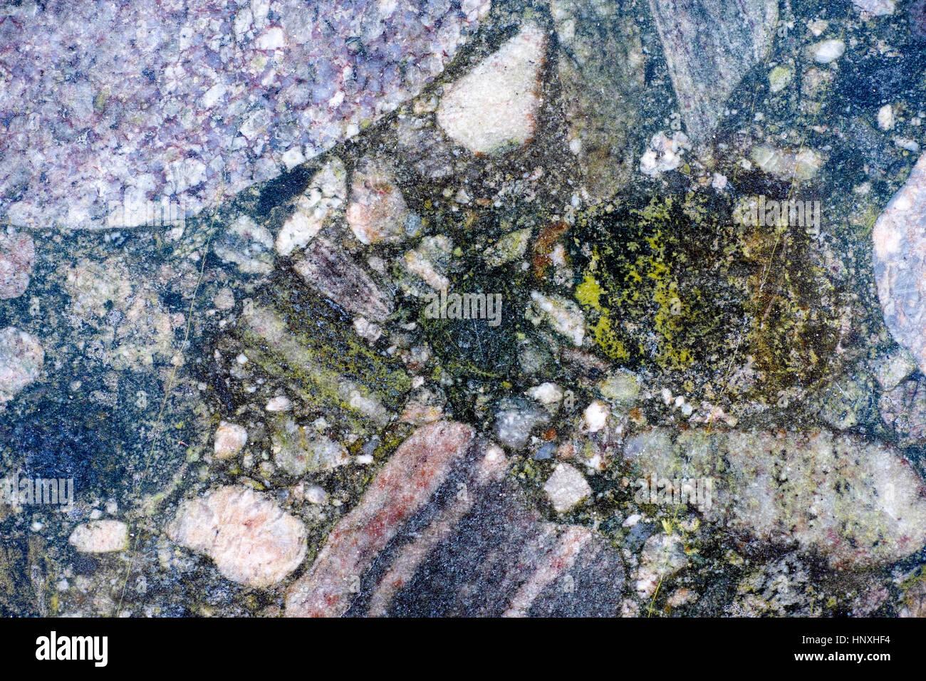 Pietra Colorata Sfondo Con Effetto Marmo Full Frame Foto Immagine