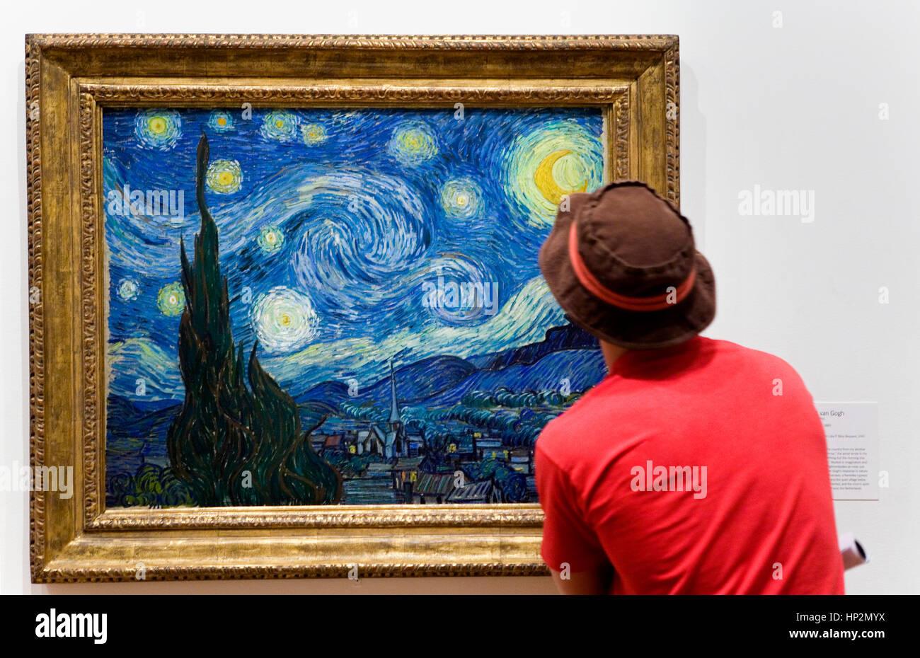 Van Gogh Notte Stellata Immagini Van Gogh Notte Stellata Fotos