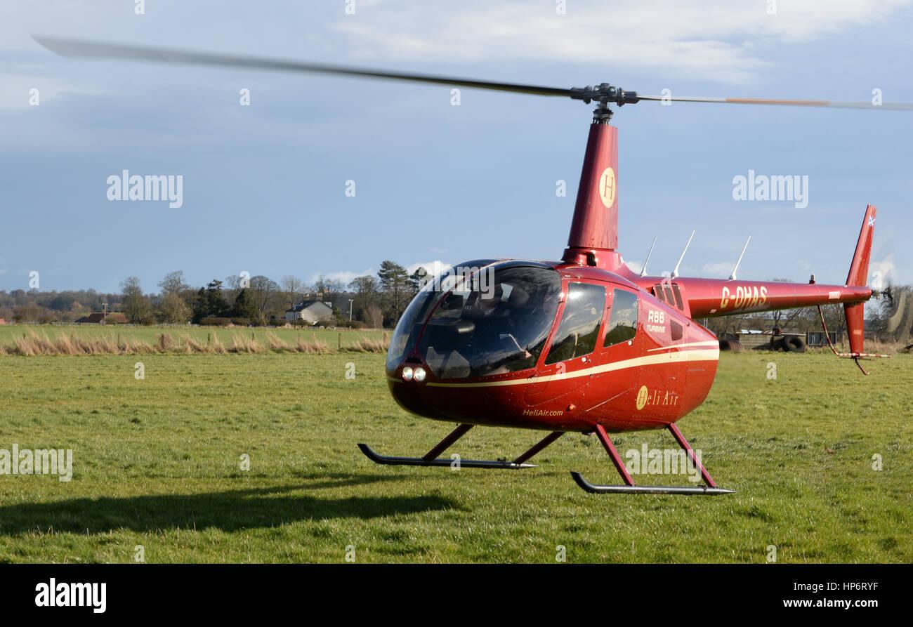 Elicottero R66 : Robinson r turbina g ohas elicottero della heli air foto
