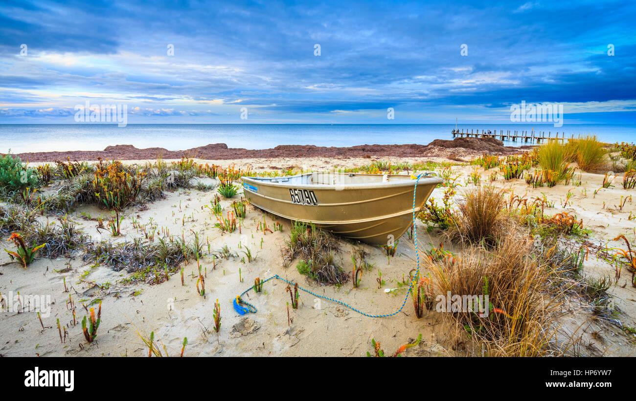 Quindalup Beach, per Dunsborough Immagini Stock