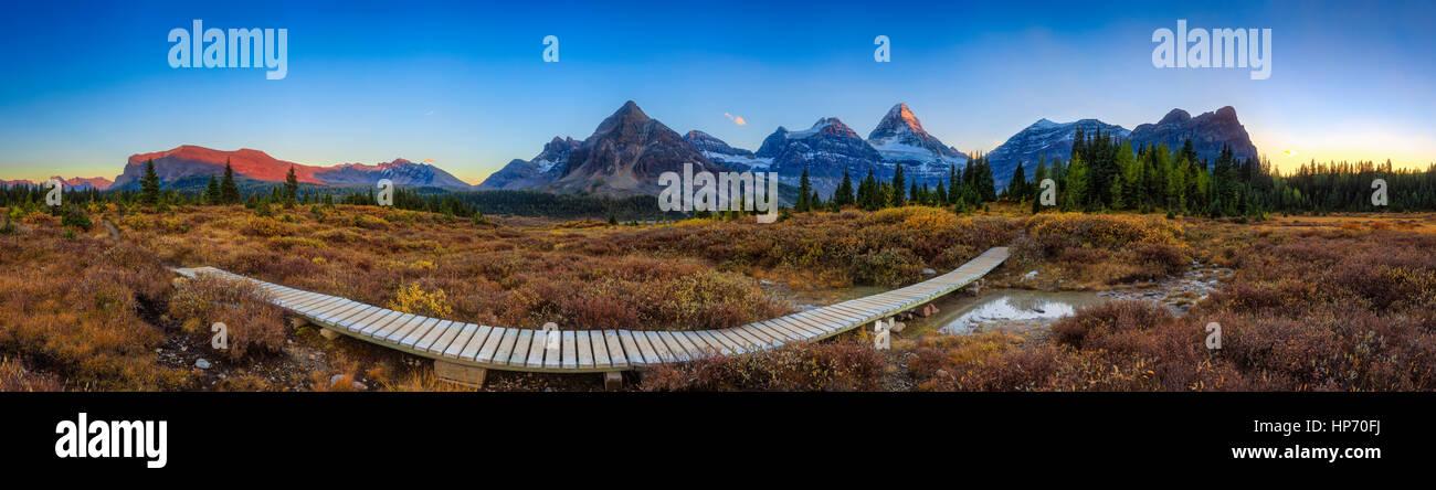Mt Assinniboine Parco Provinciale, Canada Immagini Stock