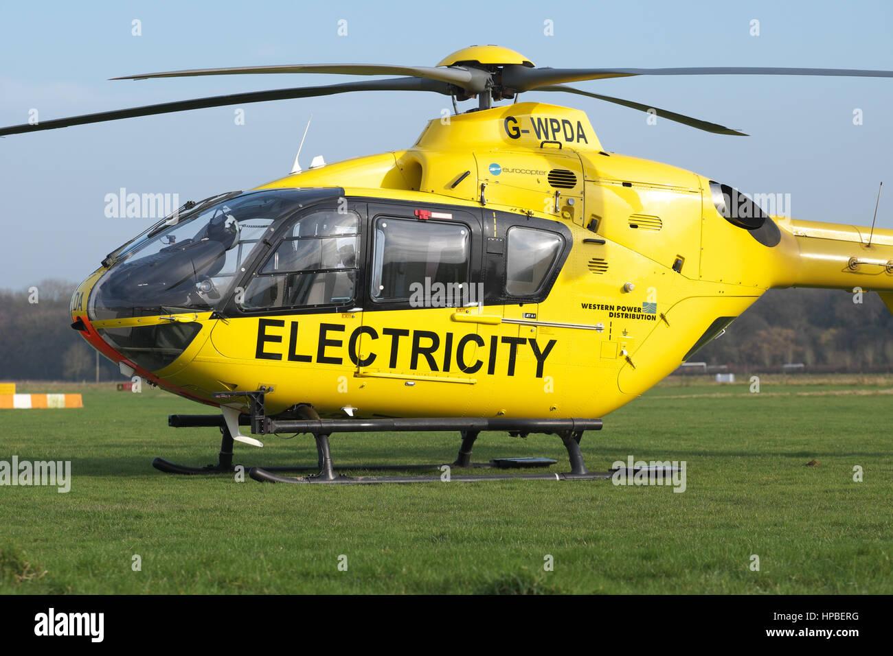 Elicottero Usato : Eurocopter ec 135 elicottero usato per lenergia elettrica di