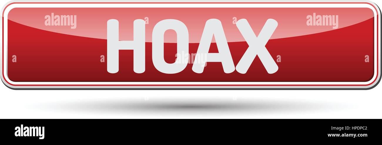 HOAX - Abstract bella pulsante con testo. Immagini Stock