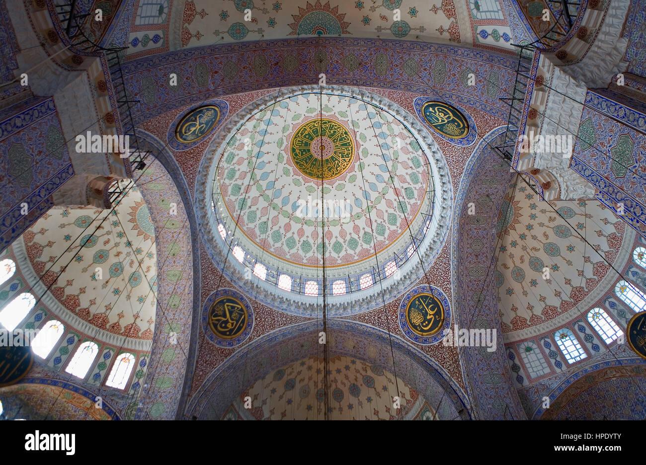 La Moschea Yeni, Istanbul, Turchia Immagini Stock