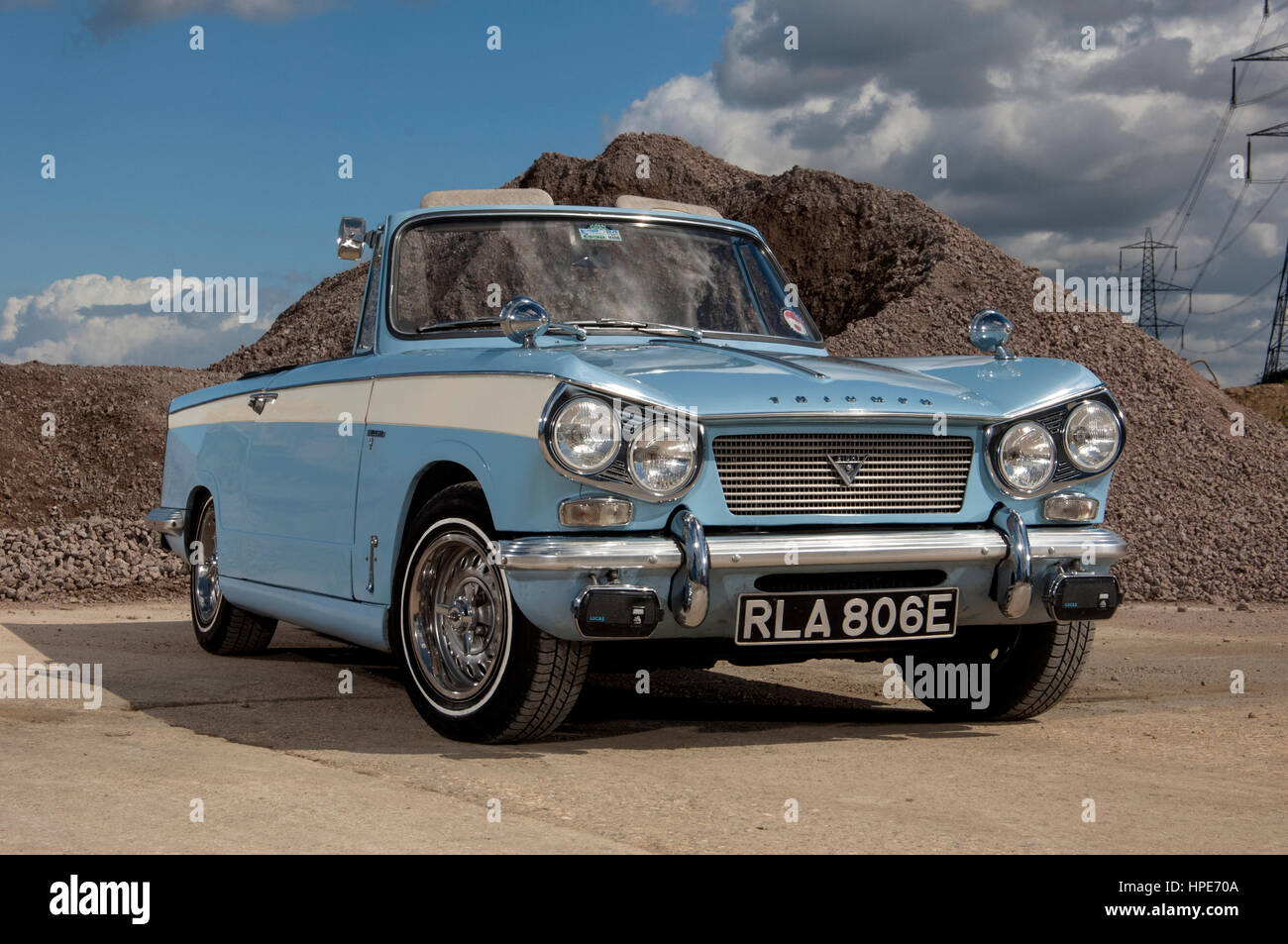 TRIUMPH Herald Pubblicità metallo segno Vintage British automobili. British Classic Cars