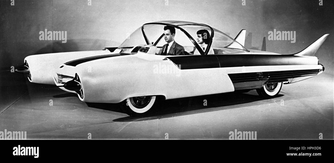 1954 Ford FX Atmos concept car Immagini Stock