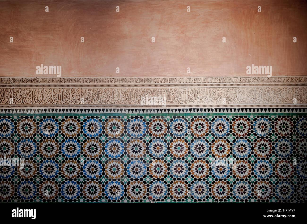Piastrelle marocchine sfondo foto immagine stock alamy