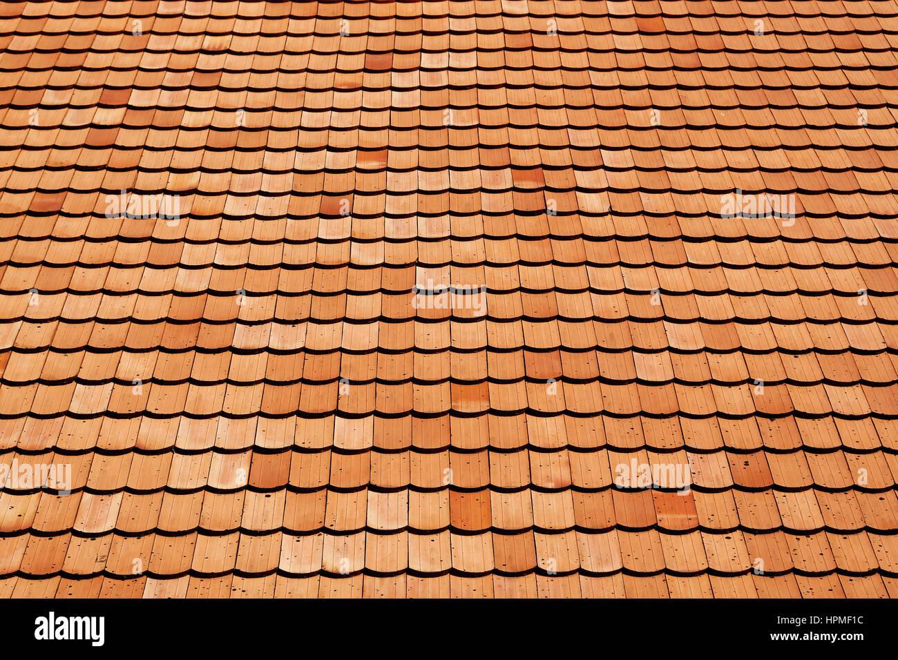 Come Dipingere Vecchie Tegole tetto di tegole di vecchie texture di superficie di sfondo