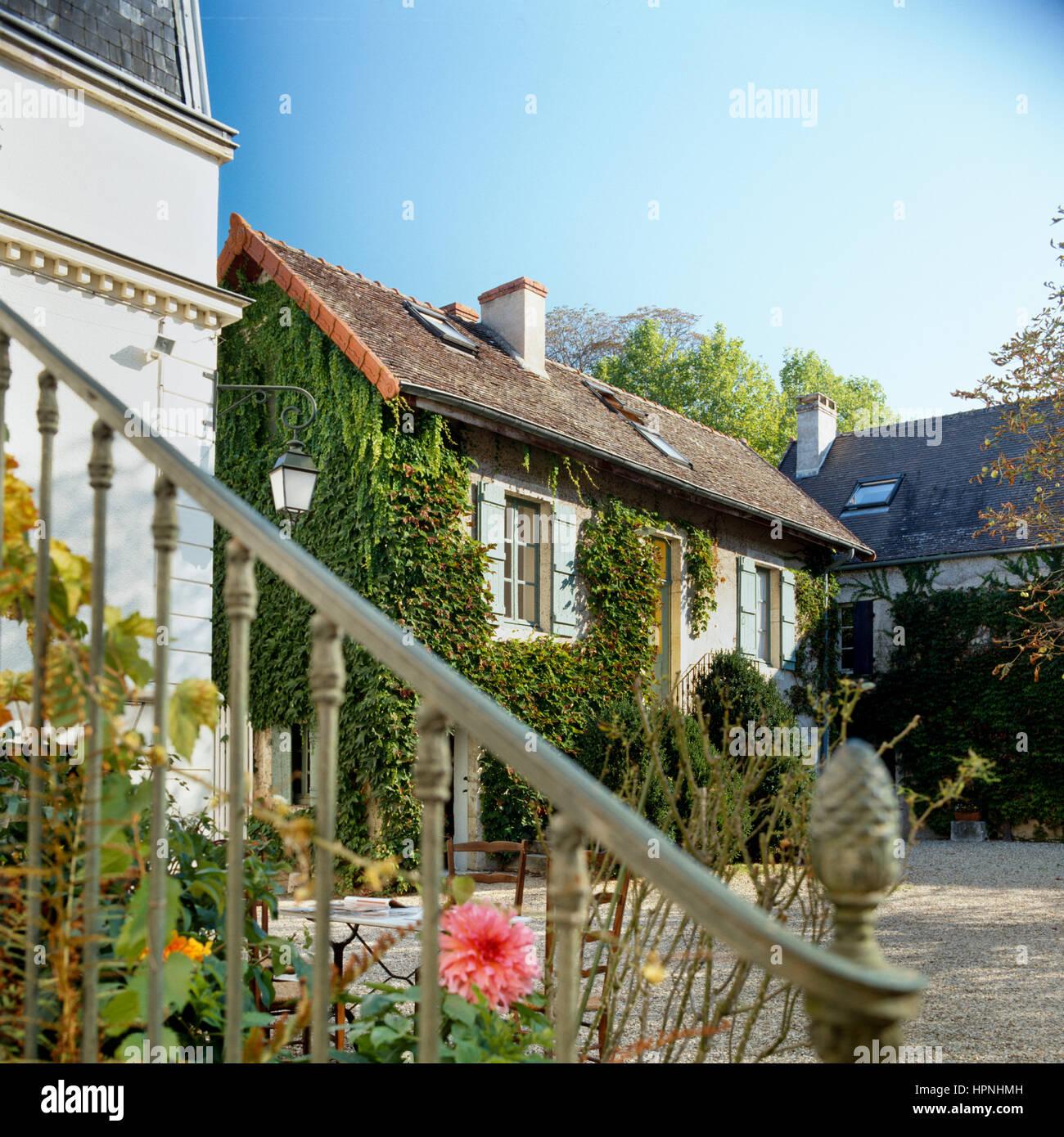 Esterno Casa Di Campagna un esterno di una casa di campagna foto & immagine stock