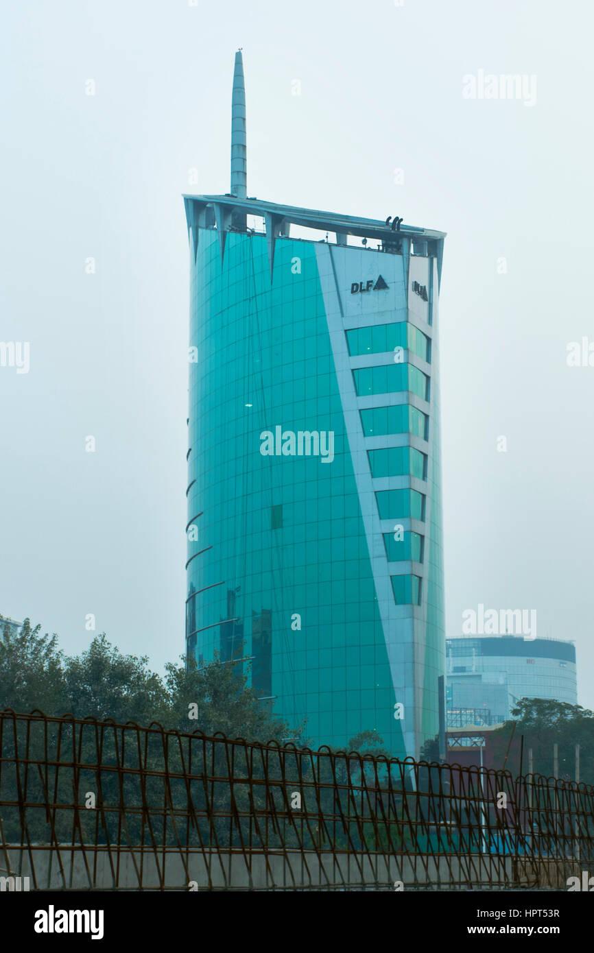 Dlf, costruzione navale, gurgaon Immagini Stock