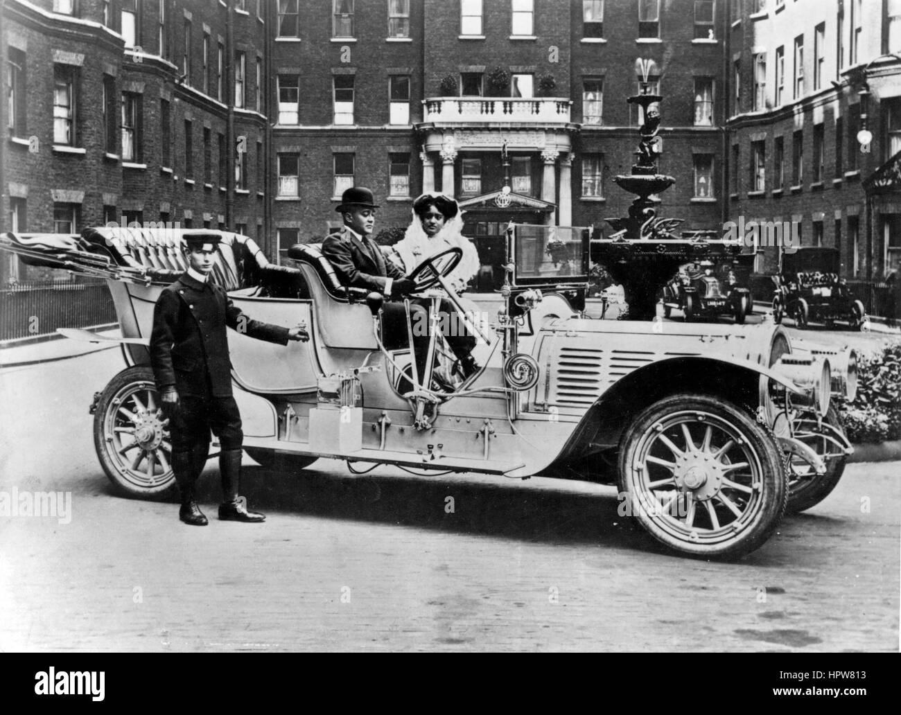 Delaunay-Belleville Circa 1910 Immagini Stock