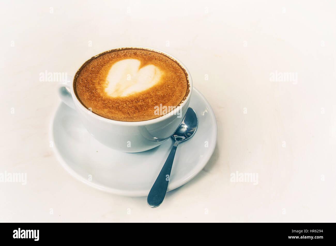 caffè latte Immagini Stock