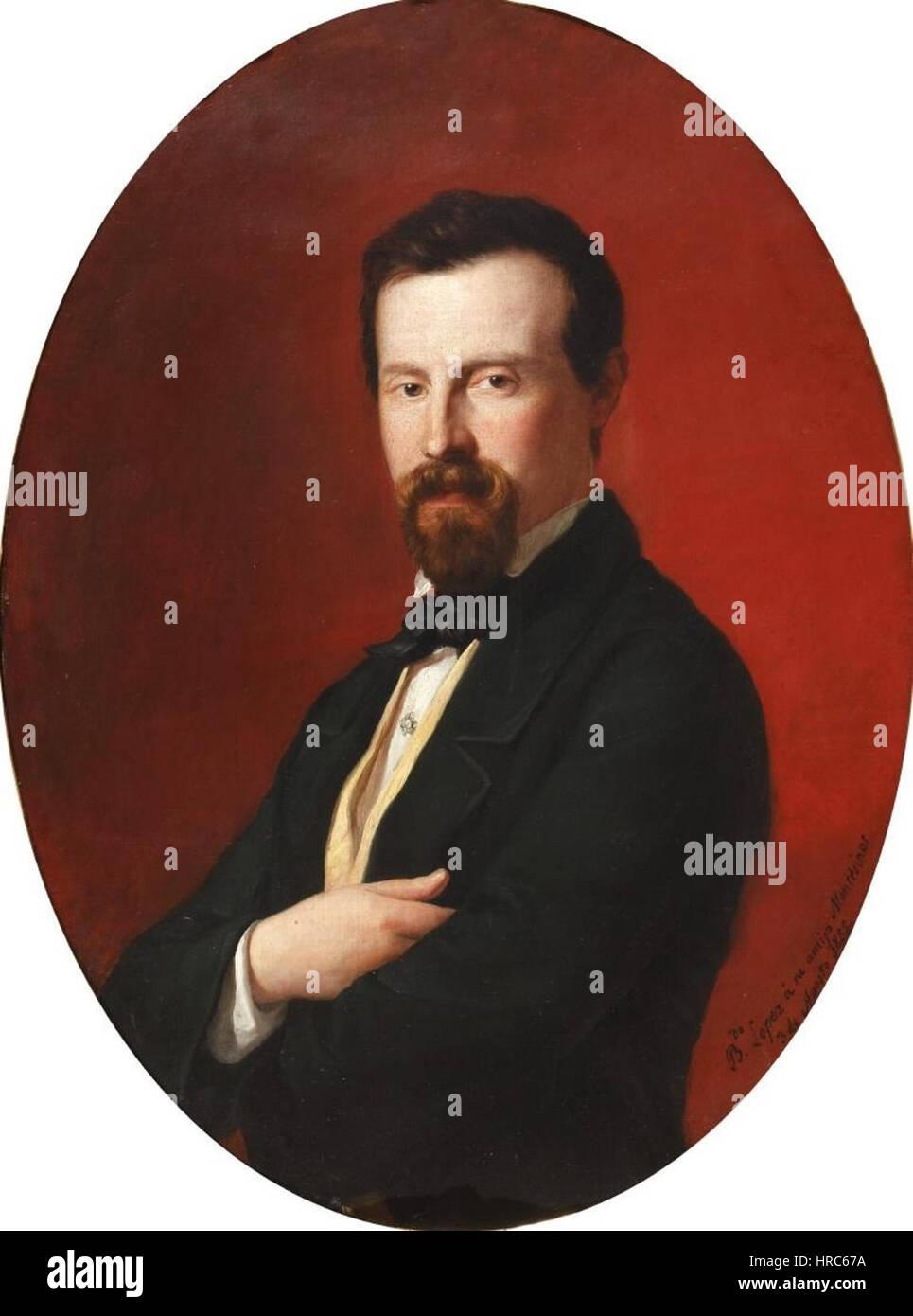 Rafael Montesinos (Museo del Romanticismo, Madrid) Immagini Stock