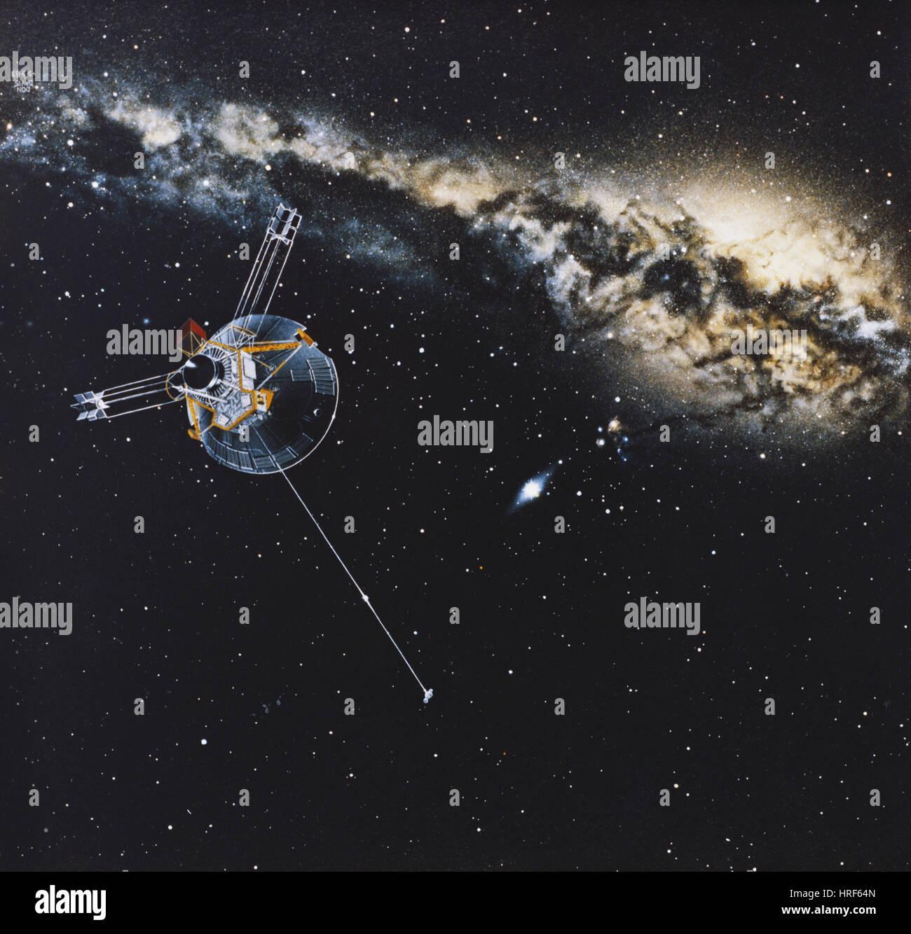 Pioneer 10 Immagini Stock