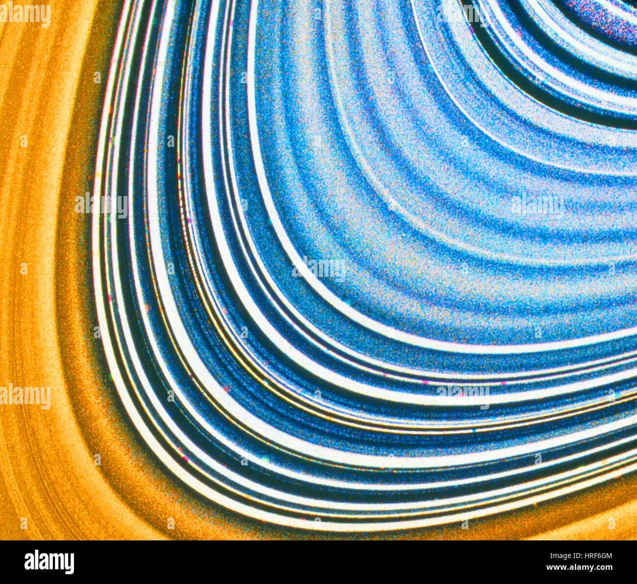 Anelli di Saturno Immagini Stock