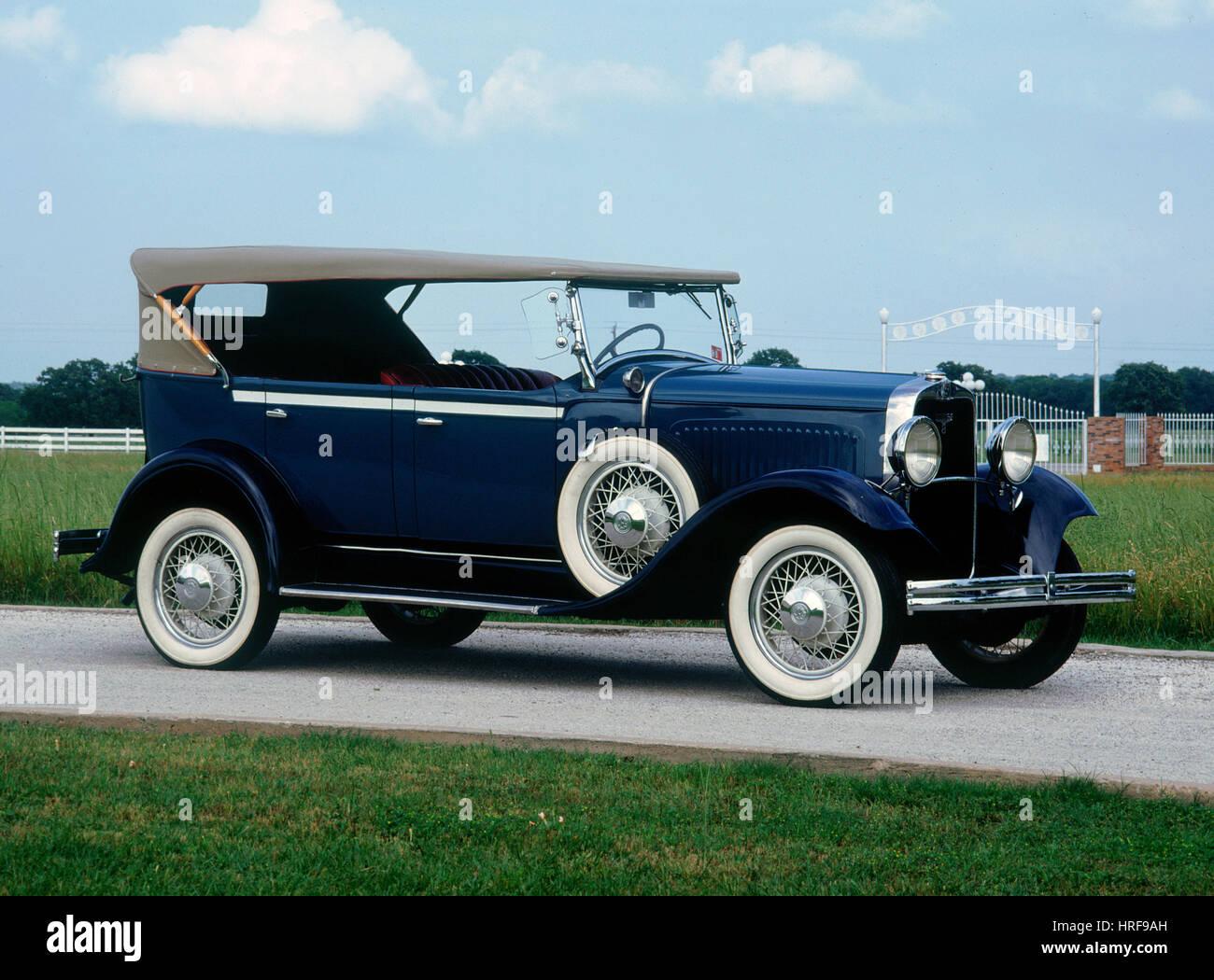 1930 Dodge serie 8 Immagini Stock