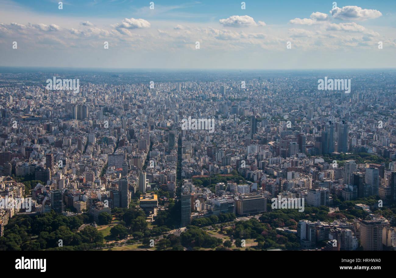 Antenna di Buenos Aires, Argentina Immagini Stock