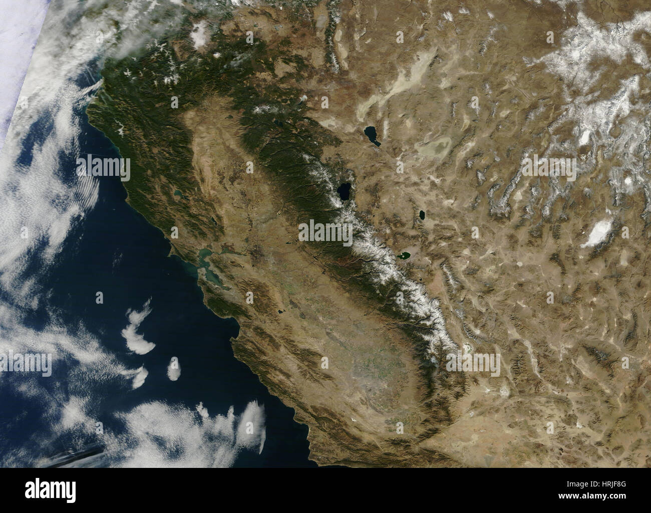 California Siccità 2014 Immagini Stock