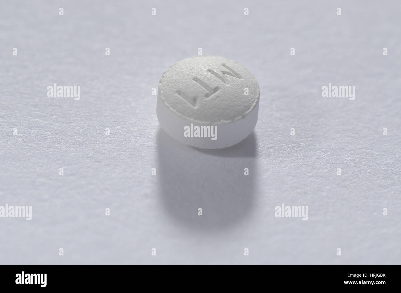 La prescrizione di medicine. Metoprololo XL 25 MG Immagini Stock