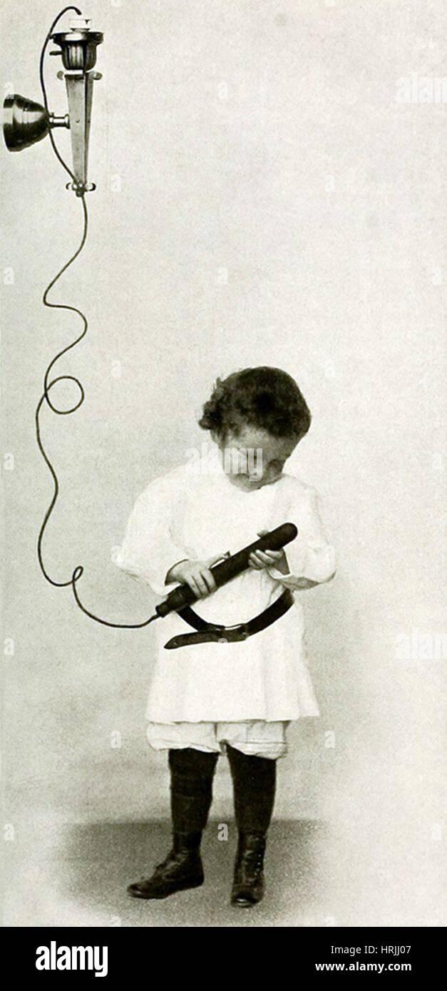 Electro-Therapeutics, 1910 Immagini Stock