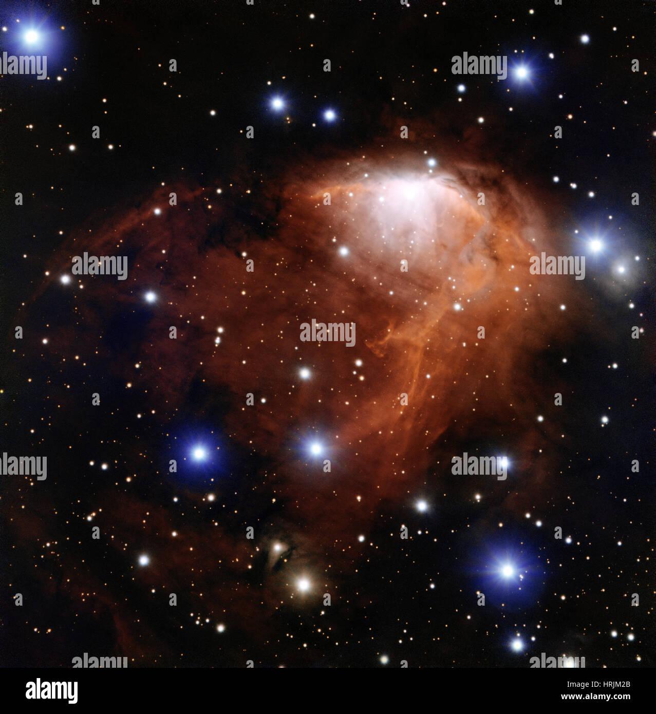 Servizio baby sitting stellare, RCW 34, gomma 19 Immagini Stock