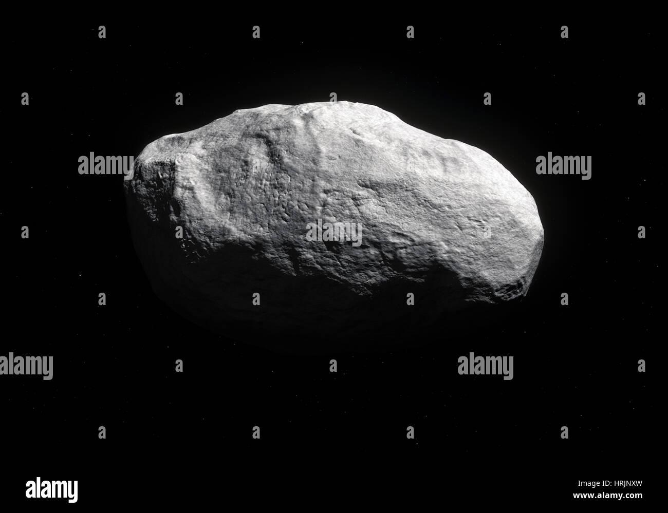 La cometa C/2014 S3 (PANSTARRS) Immagini Stock