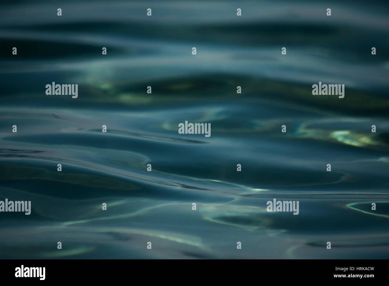 Le ondulazioni del greco oceani Foto Stock