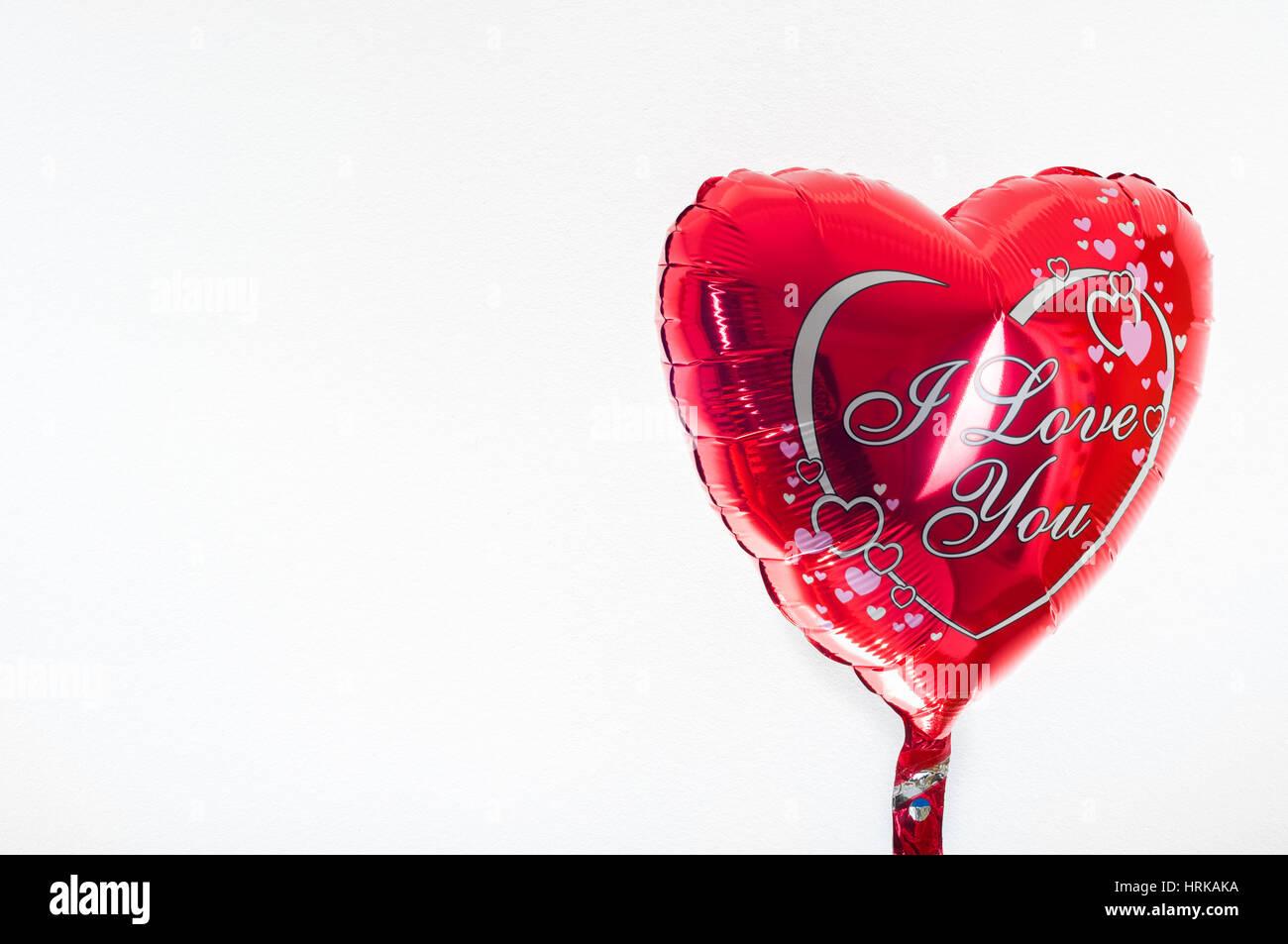 Il Giorno Di San Valentino Compleanno Amore Concetto Cuore Rosso