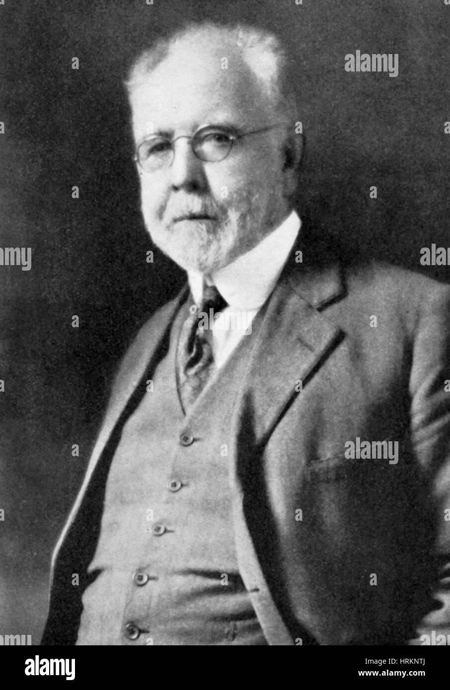 George Perkins Merrill, geologo americano Immagini Stock