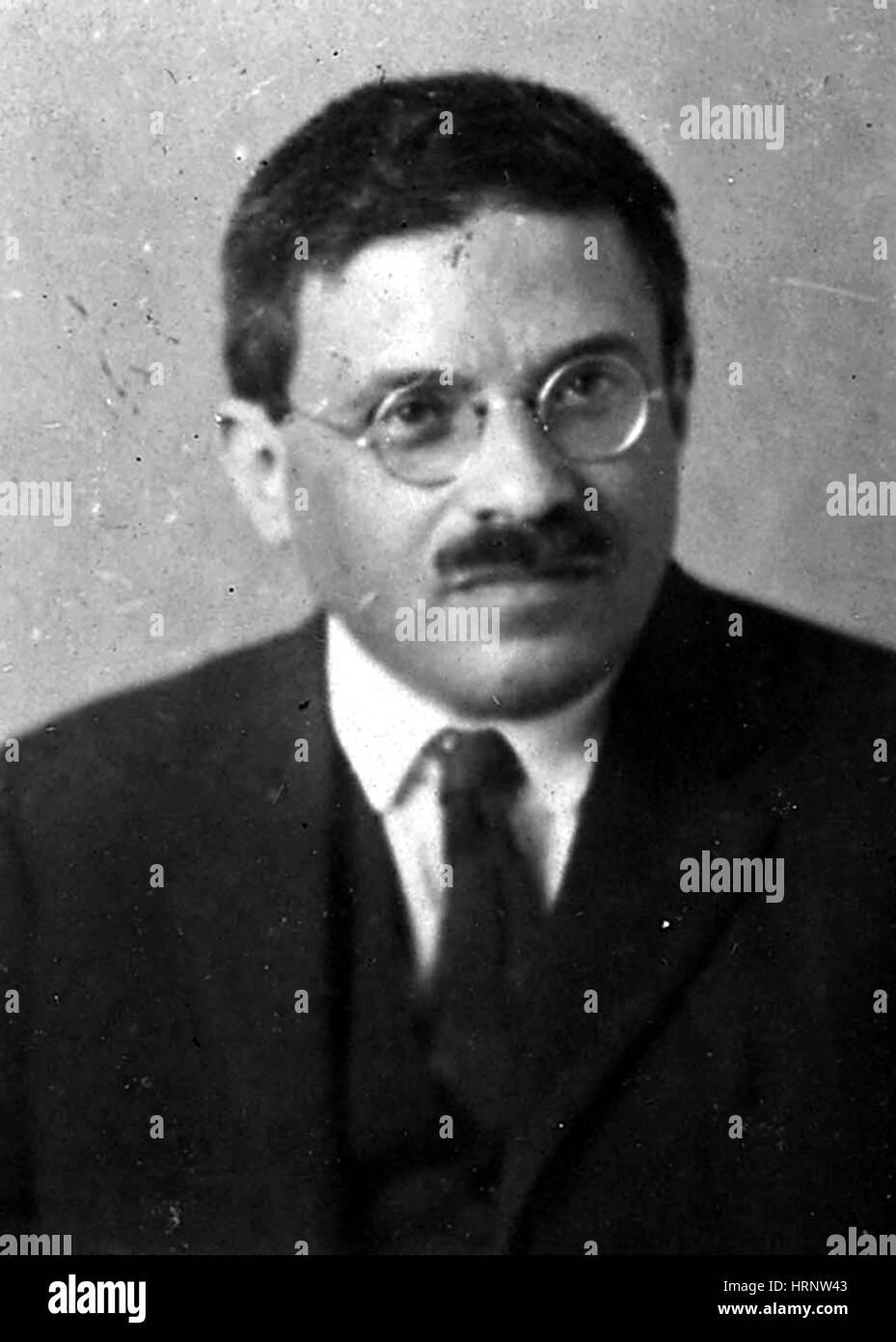 Paul Ehrenfest, il fisico austriaco Immagini Stock