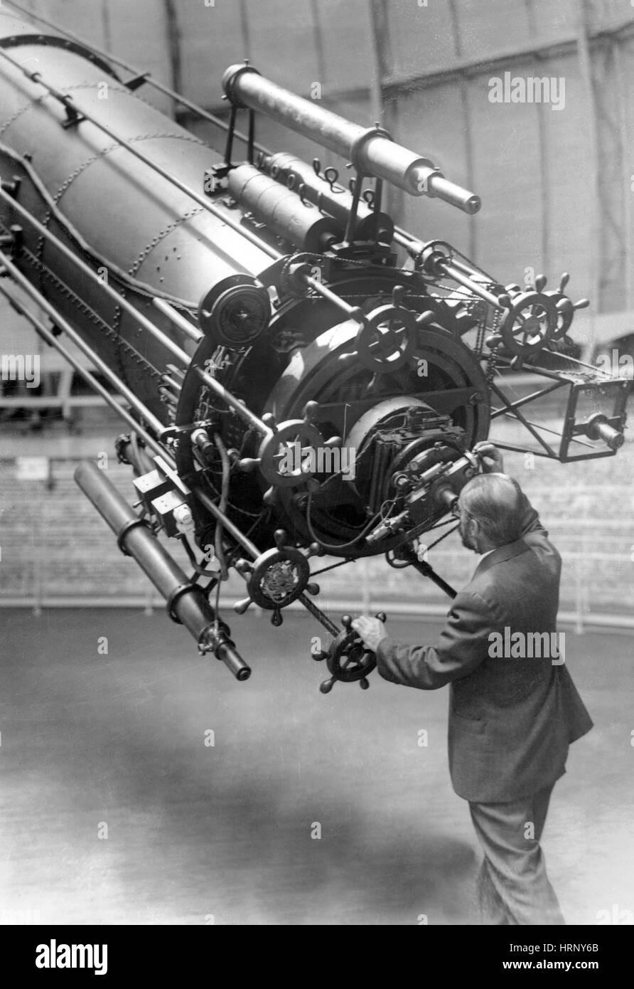 George A. Van Biesbroeck, astronomo Immagini Stock