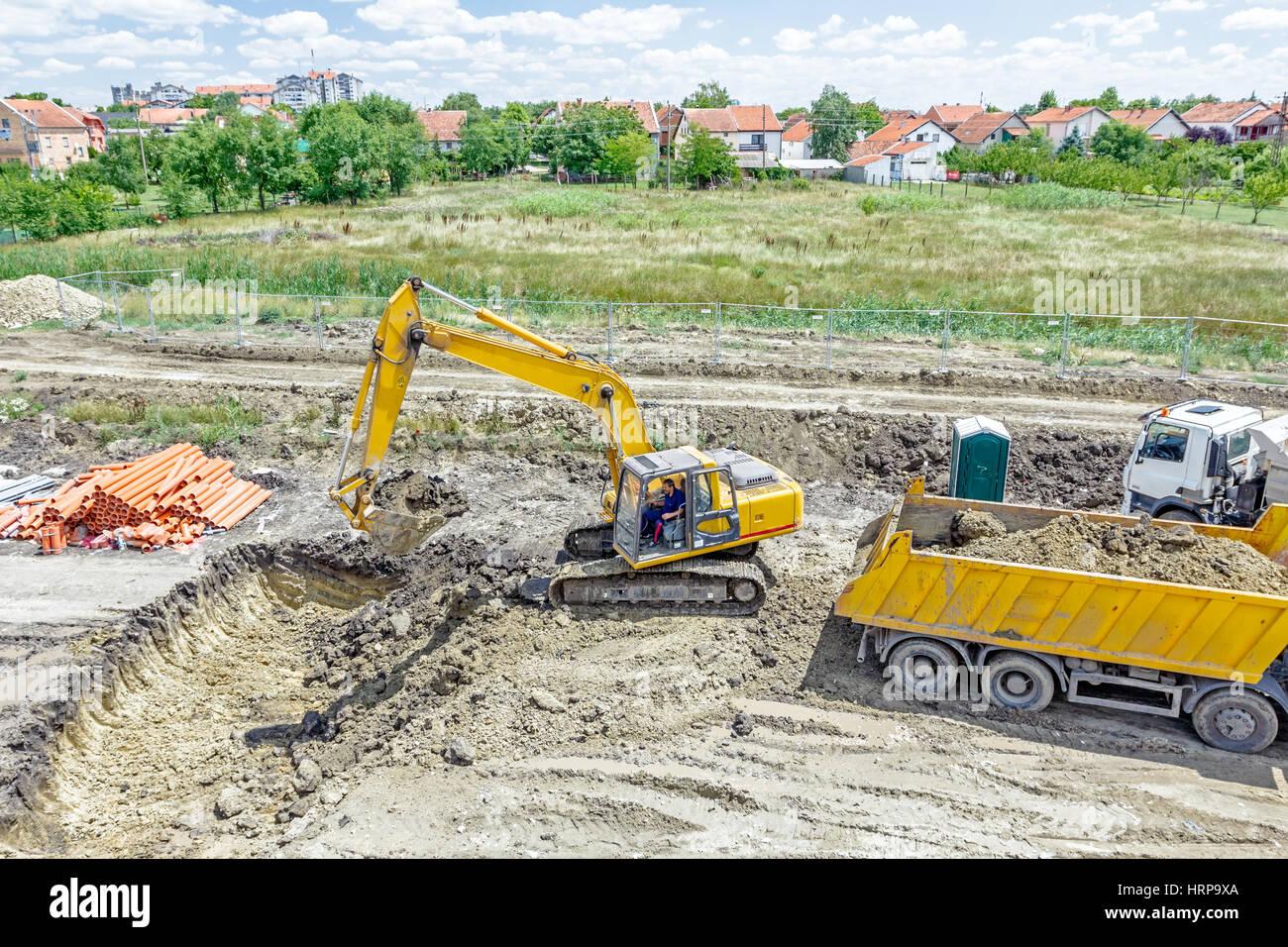 africano grande scavare