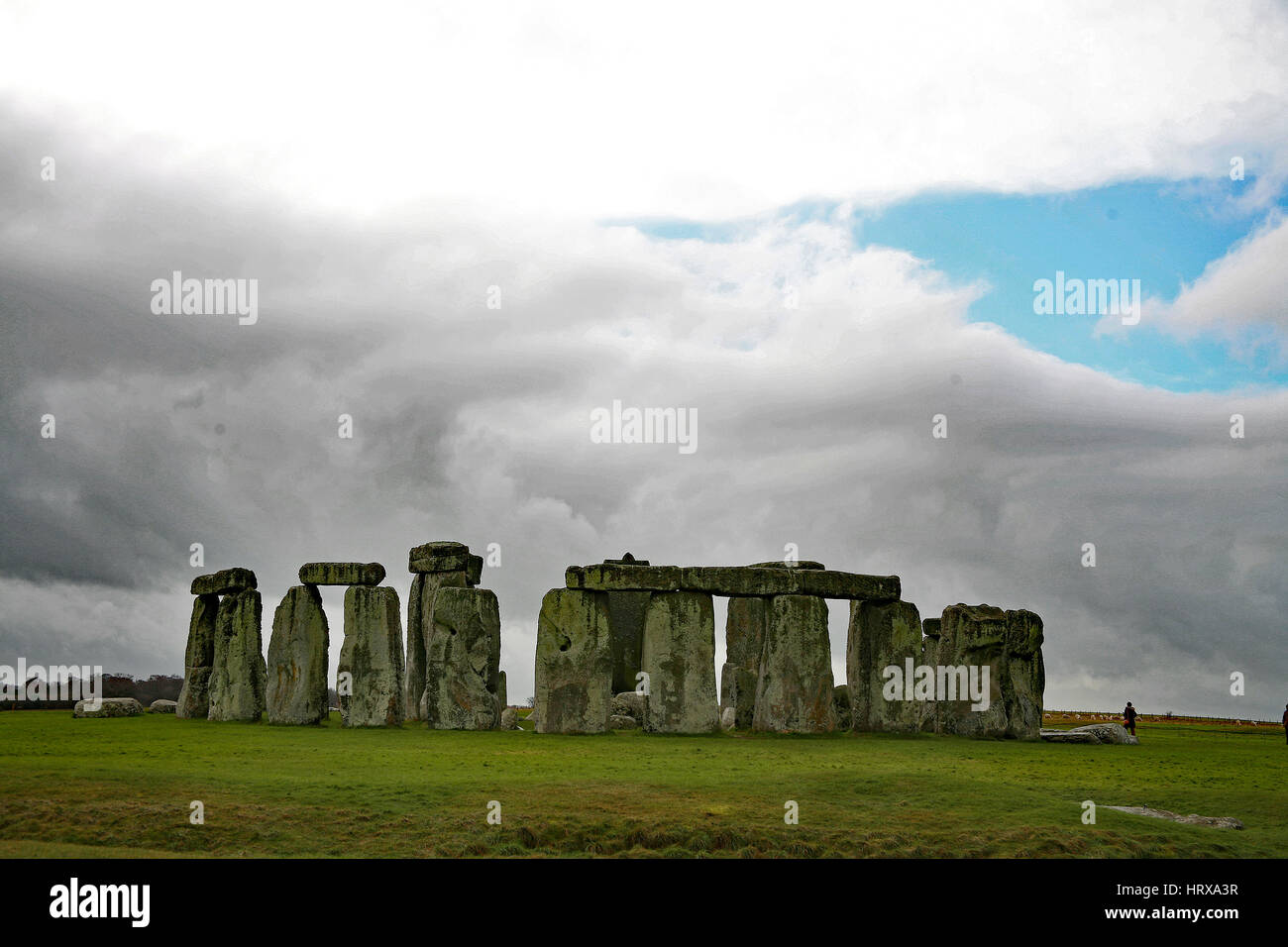 Stonehenge, UK Immagini Stock