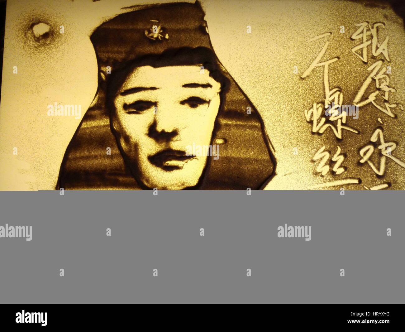 Liaocheng, Liaocheng, Cina. Mar 4, 2017. Liaocheng, Cina-Marzo 4 2017: (solo uso editoriale. Cina OUT) .gli studenti Immagini Stock