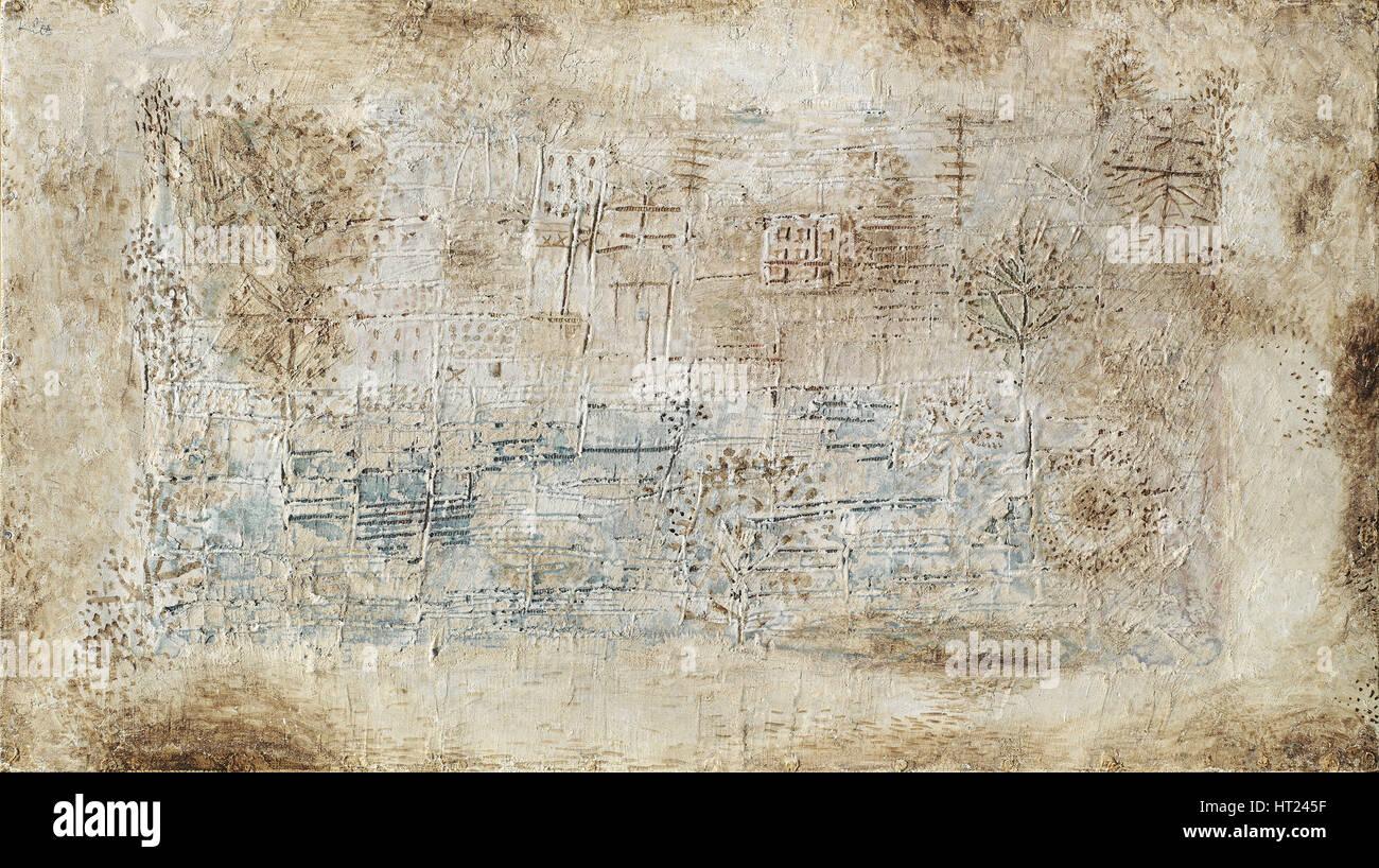 Paesaggio morto, 1931. Artista: Klee, Paolo (1879-1940) Immagini Stock