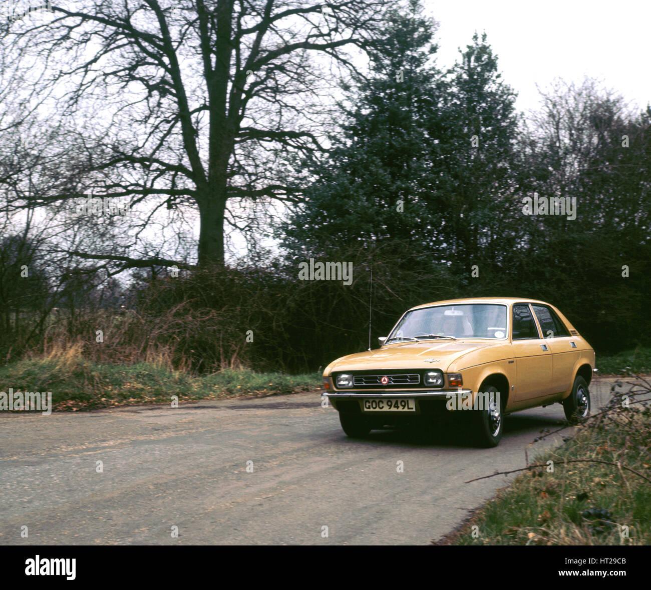 1973 Austin Allegro. Artista: sconosciuto. Immagini Stock